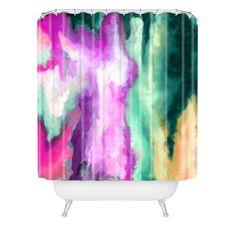 Jacqueline Maldonado Fever Dream Shower Curtain | DENY Designs Home Accessories