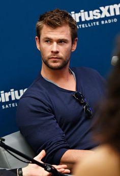 ~~Chris Hemsworth Photos - Chris Hemsworth at the SiriusXM Studios - Zimbio~~