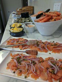 Seafood Buffet Ideas