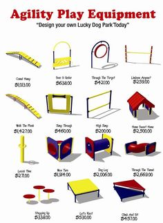 Agility equipment now lets build peer own!