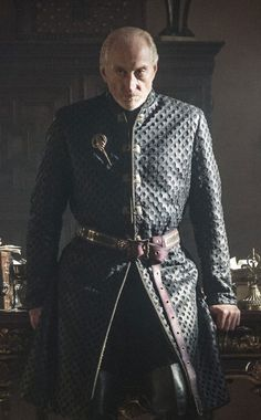 Tywin Lannister, Lord of Casterly Rock, Warden of The West, Shield of Lannisport (father to twins Jaime and Circe and Tyrion Lannister) - Game of Thrones