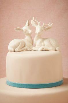 Oh Deer Cake Topper #WeddingCake #CakeTopper