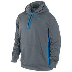 Nike KO Hoodie - Men's - Armory Slate/Blue Hero