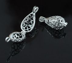 Find More Pendants Information about Hollow Drop shape Pearl/ Coral/ Amber/ Crystal/ Gem Beads Locket Pendants, Silver or Rhodium plated color Floating Charms Cage,High Quality pendant finding,China pendant Suppliers, Cheap pendant cable from Jewelryfy -Wholesaler on Aliexpress.com