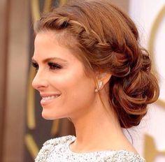 Maria Menunos at 2014 Oscars