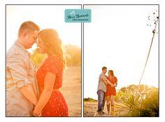 Sunset engagement session in Fredericksburg, TX