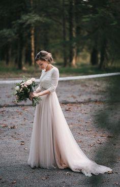 SantosCostura vestido de novia bridal Wedding Boda real bride Núria. @santoscostura www.santoscostura.com