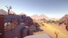 Elevate your workflow with the Lowpoly Style Mega Pack asset from CH Assets. Find this & other Landscapes options on the Unity Asset Store. Desert Environment, Mega Pack, Layout Inspiration, Low Poly, Small Towns, Game Design, Design Bundles, Amazing Art, Landscape