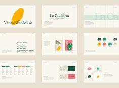 La Casiana Coffee Company Branding - World Brand Design Branding And Packaging, Coffee Branding, Branding Agency, Identity Branding, Corporate Identity, Food Branding, Corporate Design, Visual Identity, Brand Guidelines Design