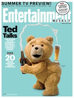 Doesn't Ted do an amazing Kim Kardashian impression?! Get the exclusive scoop on the summer's filthiest—and most lovable—sequel #Ted2 Image credit: Illoura/Universal Pictures/Media Rights Capital.