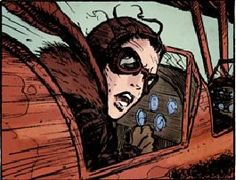 -- Jo at the controls of her Stearman Kaydet cropduster. Graphic Novel, Art Pages, Art, Graphic Novel Art