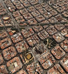 Ideas Travel Spain Barcelona Sagrada Familia For 2019 Barcelona Spain Travel, Barcelona City, Barcelona Catalonia, Gaudi, Places To Travel, Places To Visit, Parc Guell, Aerial Photography, Travel Photography