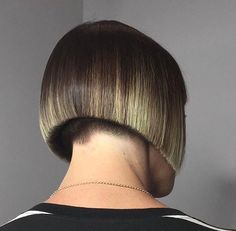 """369 Likes, 5 Comments - #BuzzCutFeed (@buzzcutfeed) on Instagram: """"Precision Cut Bob Hair By @shannelmariano ✂️ #BuzzCutFeed #PrecisionCut #Undercut #Undercuts…"""""""