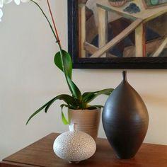 Modern ceramic pottery by Keiko Coghlin, Matilda Morgan Ceramics. Modern pottery- modern decor- modern ceramics