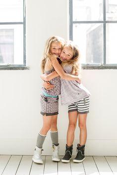 nieuwe collectie Soft& Jolly, trendy meisjeskleding, hippe meisjeskleding