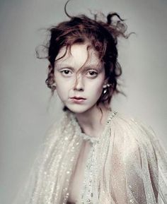 Natalie Westling by Paolo Roversi for Vogue Italia March 2016 - Chanel Spring 2016 Couture