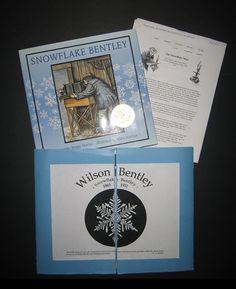 foldable to go with Snowflake Bentley