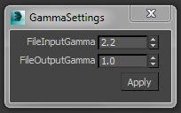 gamma settings for 3ds max/design 2014   ScriptSpot