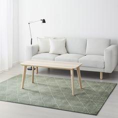 STENLILLE vloerkleed | IKEA IKEAnederland IKEAnl decoratie woonkamer tapijt vloerkleed laagpolig groen