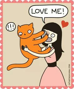 I do this all the time with my cat...