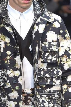patternprints journal: PRINTS, PATTERNS AND DETAILS FROM RECENT PARIS FASHION WEEK (MENSWEAR SPRING/SUMMER 2015) / Givenchy