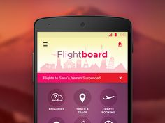 Travel App Dashboard by Dinesh Khairate