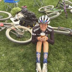 Post ride modus on   @emily.schaldach #llkitsandsocks #hbstache #standout #bedifferent #mtb #wielrennen #cycling #running #sockdoping #sockgame #socks #sockswag #cyclingkit #cyclingsocks #newkitday #kitdoping #outsideisfree #fromwhereiride #cyclingapparel #cyclingphoto #wymtm #instacycling #instasocks #fashion #summerkit #womenscycling #smilesformiles #girlswhoride #girlsonbikes
