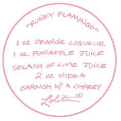 Lolita® Funky Flamingo Recipe