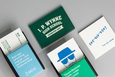 Walter White can't possibly give out his other job's calling cards at his day job!