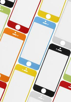 iPhone 5 Colored Screen Protector Kit: All4Cellular $5