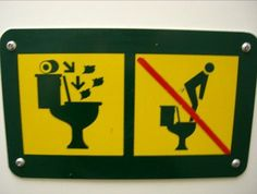 funny caution symbols | Funny stick figure warning signs..