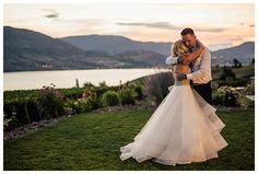 Painted Rock Estate Winery Penticton Vineyard Wedding Barnett Photography | Okanagan Vineyard Wedding Venue