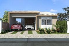 fachadas de casas terreas com telhado aparente - Pesquisa Google