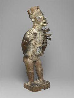 Brooklyn Museum: Arts of Africa: Power Figure (Nkisi Nkondi)