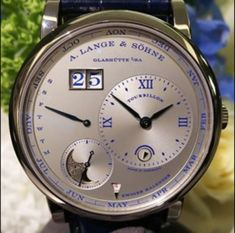 A. Lange & Sohne Lange 1 Tourbillon Perpetual Calendar 25th Anniversary Watch - WORLD OF LUXURY Perpetual Calendar, 25th Anniversary, Watch Brands, Articles, Watches, Luxury, Clock Art, Wristwatches, Clocks