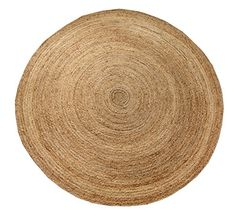 Shines LLC Natural Fiber Collection  8x8 100 Natural Eco  Friendly Jute Round Pattern Accent Royal Hand Woven Area Rugs ** This is an Amazon Affiliate link. Click image for more details.