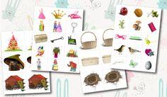 FREE - Preschool Printables.Игры на развитие интуиции. Раннее развитие. Материалы для печати. Шичида