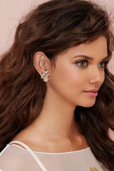 From the Front to Back Rhinestone Earrings | Shop What's New at Nasty Gal