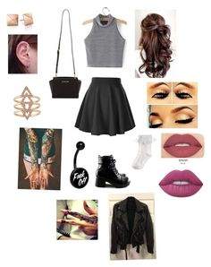 """""""Untitled #229"""" by kaylaansan ❤ liked on Polyvore featuring Monsoon, Smashbox, Lime Crime and MICHAEL Michael Kors"""