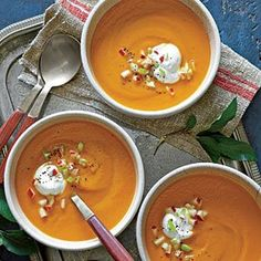 Carrot-Apple Soup Recipe
