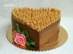 Výborná karamelová torta! Cake Recipes, Dessert Recipes, Dress Cake, Sweets Cake, Sweet Desserts, Food Photography, Good Food, Cheesecake, Cupcakes