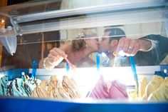 Too bad I've already planned TWO dessert options for our wedding... a gelato bar would be so cool