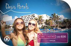 Vistas de fotografía, una excepcional gastronomía: #Cancún lo tiene todo🌴☀http://goo.gl/tG0kui Incluye: Boletos Aéreos + Traslados Aeropuerto + Alojamiento