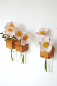 3 cube magnets by Myflowermeadow on Etsy