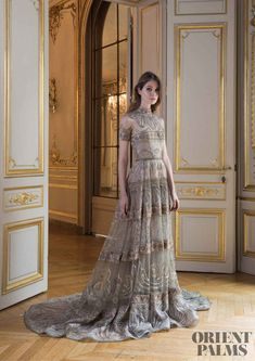Paolo Sebastian Herbst-Winter - Couture - www. Style Haute Couture, Couture Fashion, Runway Fashion, High Fashion, Bridal Fashion, Fashion 2018, Latest Fashion, Street Style Rock, Beautiful Gowns