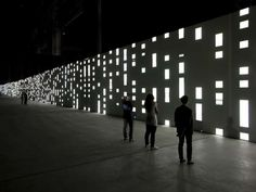 Unidisplay by Carsten Nicolai Has Guests Gazing Into Infinity #Design #Creativity trendhunter.com