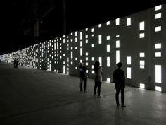 Unidisplay by Carsten Nicolai Has Guests Gazing Into Infinity #Design #Creativity trendhunter.com
