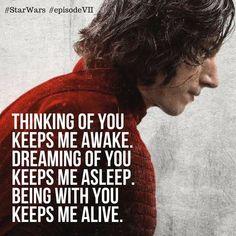 #KyloRen #Reylo #quotes