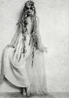 """""""Reve D'Un Soir D'été"""". Photographed by Christophe Kutner, 1994"""