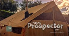 This is the Robens Prospector tent. A large traditional polycotton tent. http://campingtentlovers.com/best-cabin-camping-tents/